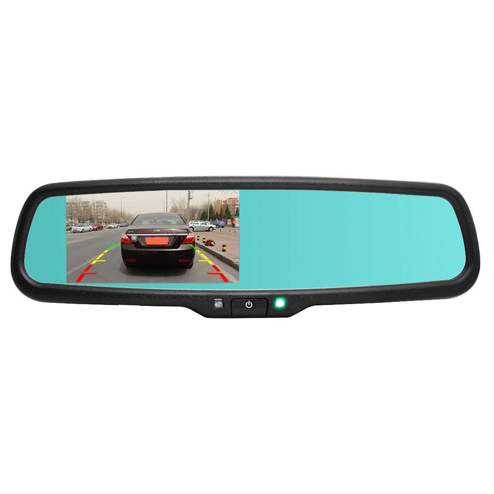 PARKSAFE 4.3in Mirror Monitor Back up Camera