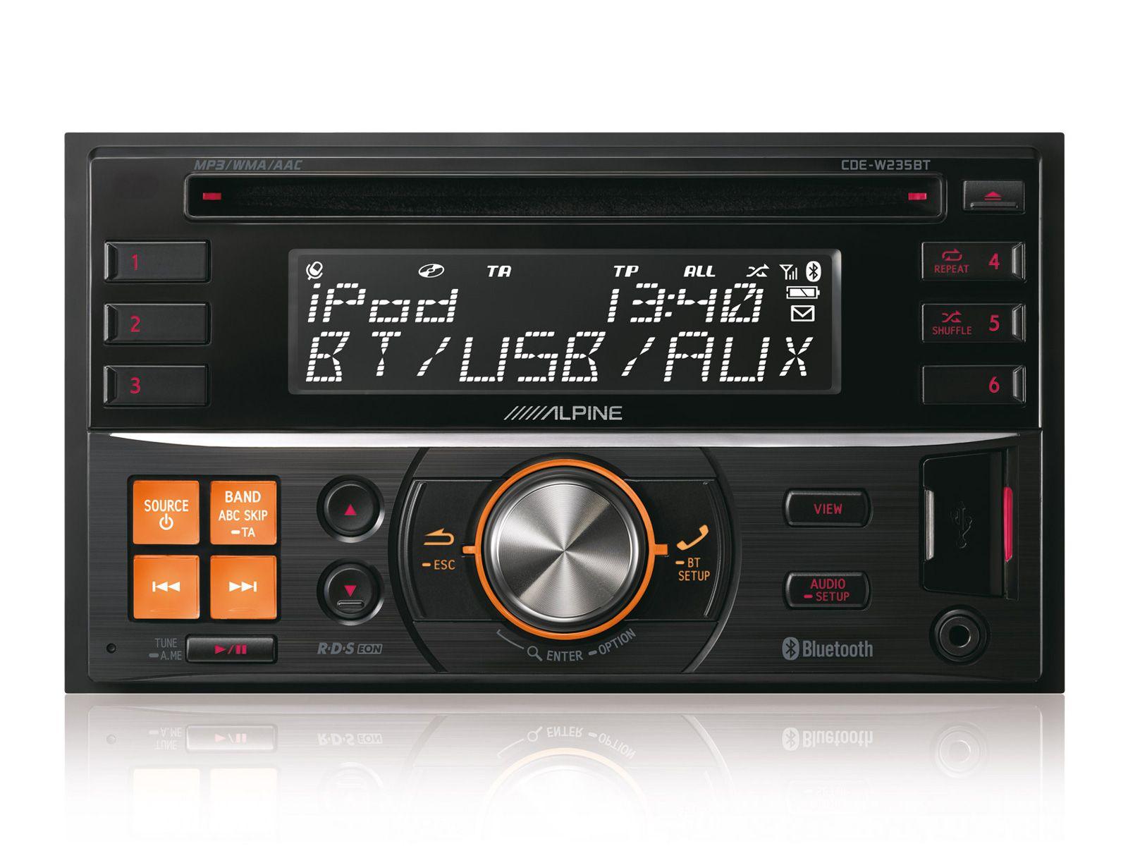 Double DIN Radios