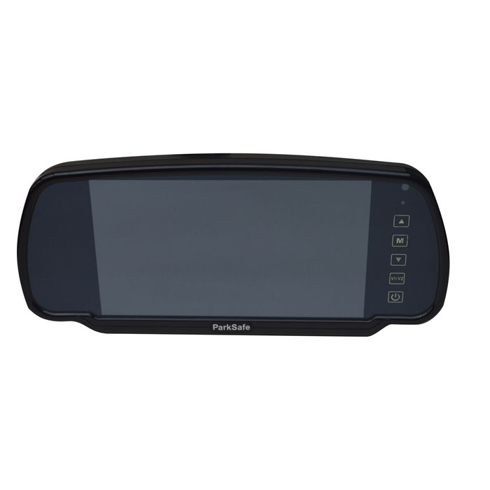 Parksafe 7in Mirror Monitor - Back up Camera