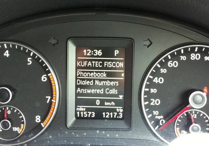 Fiscon VW/Skoda OEM Bluetooth Car Kit - Basic