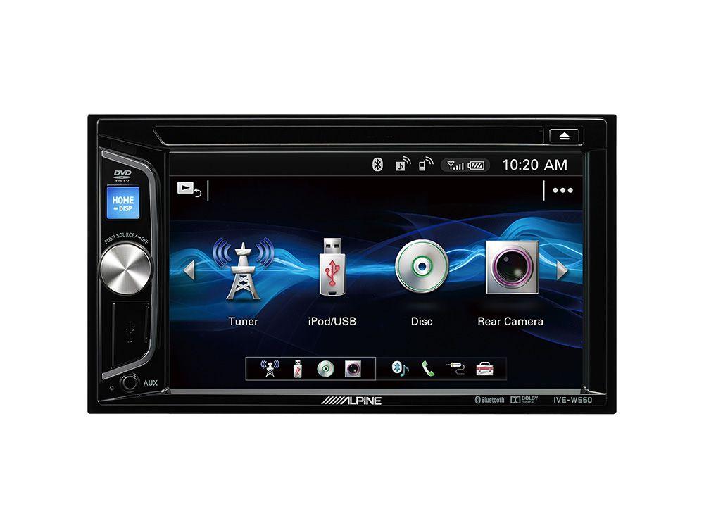 Alpine IVE W560BT – Touchscreen Bluetooth Radio