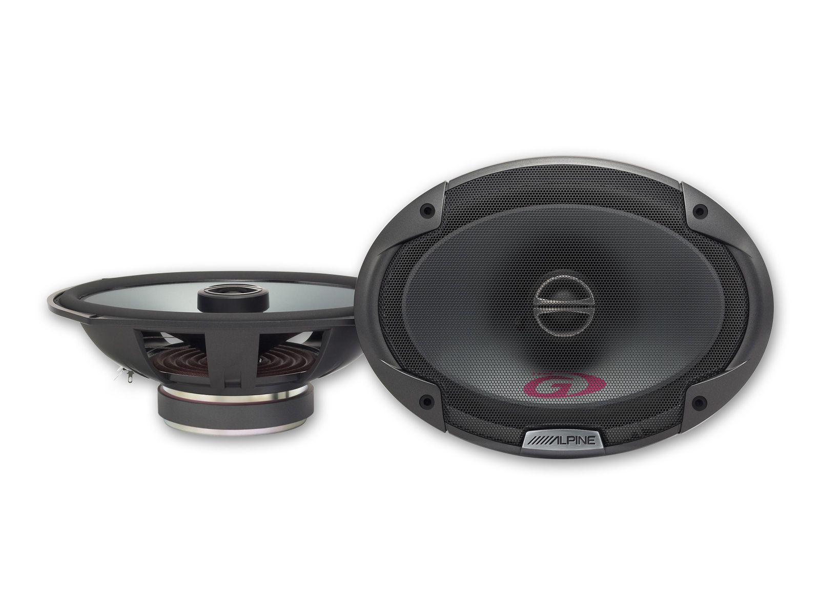 ALPINE COAXIAL 2-WAY SPEAKER - SPG-69C2