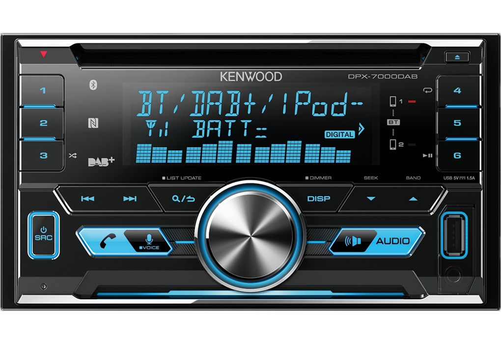Kenwood - DPX-7100DAB DAB & Bluetooth