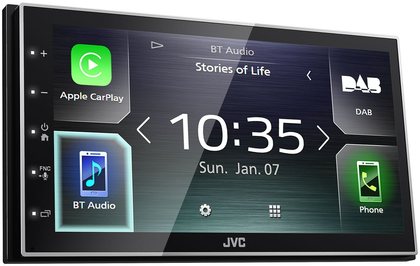 JVC KW-M745DBT with Bluetooth
