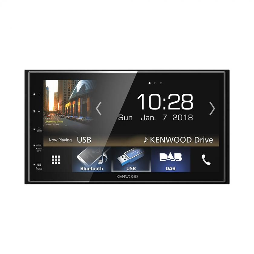 Kenwood DMX7018 with Android Auto & Apple Car Play