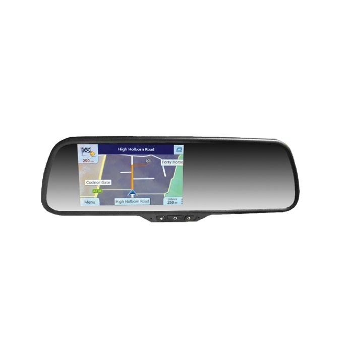 Sat Nav, Dash Cam, Reverse Cam - Mirror Monitor