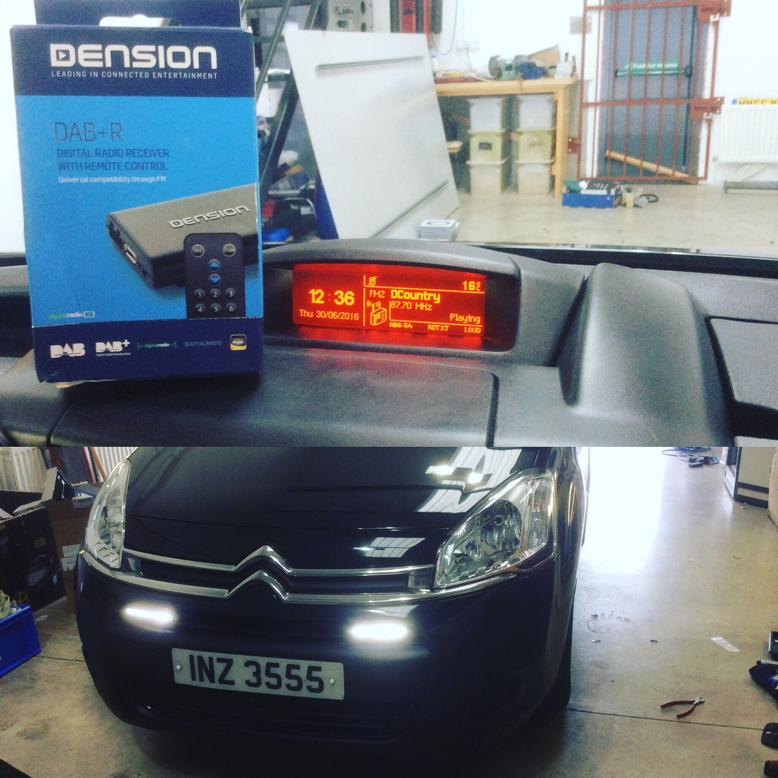 Citroen Berlingo Dension DAB-R