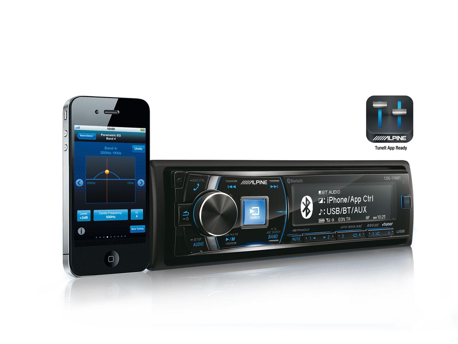 bluetooth radio for sale in northern ireland alpine cde. Black Bedroom Furniture Sets. Home Design Ideas