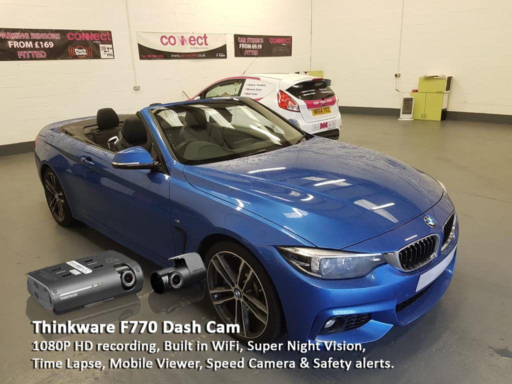 BMW 4 Series 2 Channel Dash Cam