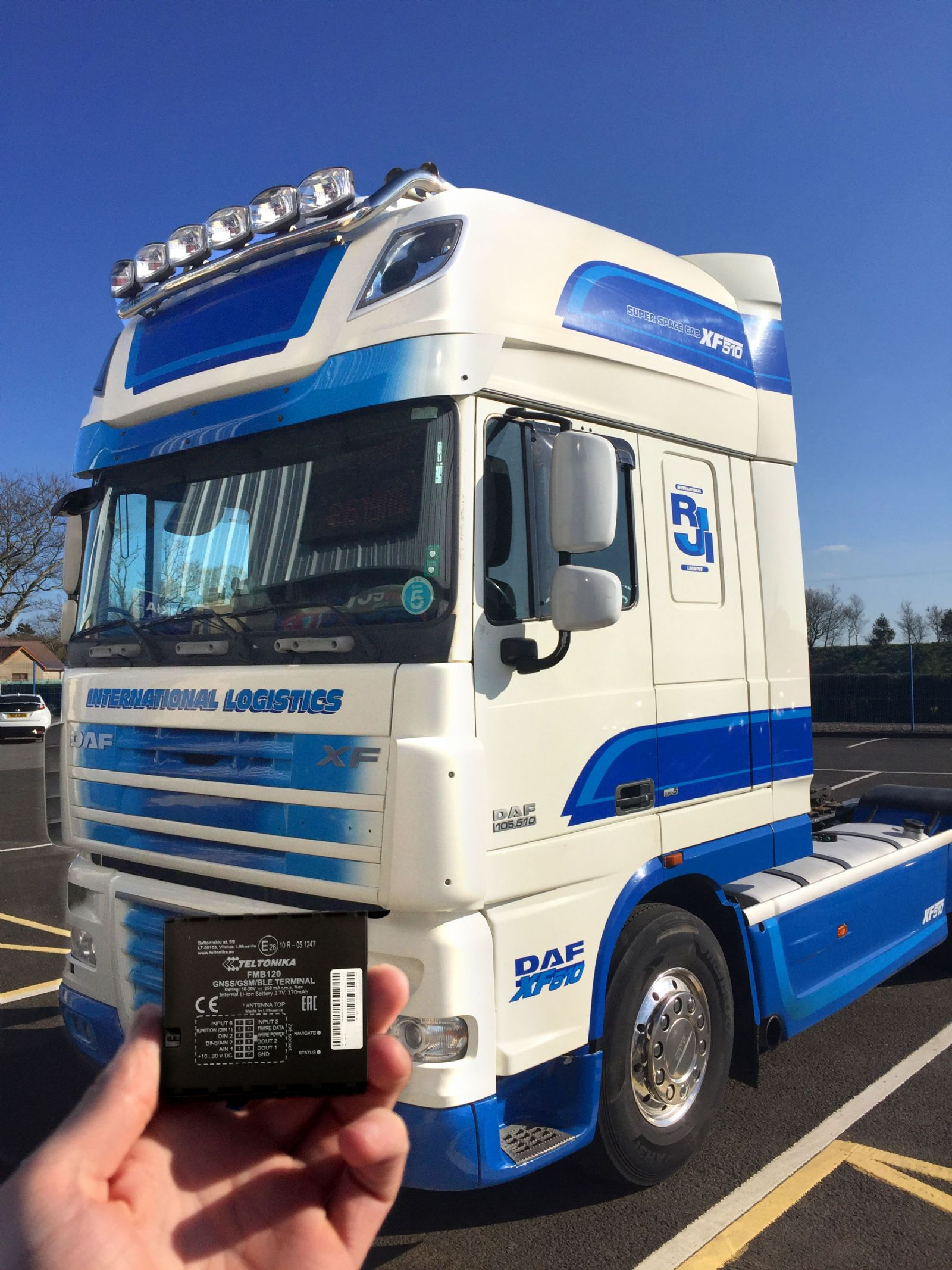 DAF XF510 Truck fitted with GPS Tracker