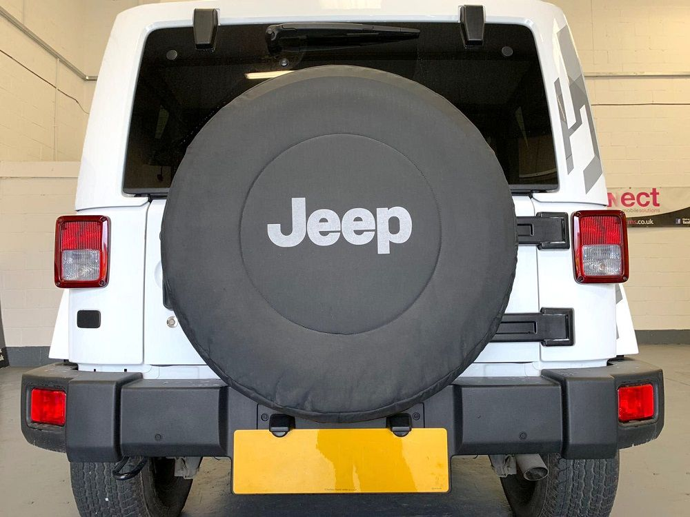 Jeep Wrangler - Another set of parking sensors fitted in Belfast