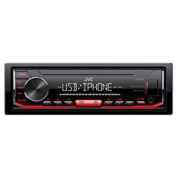 JVC KD – X252 Single Din Radio with USB