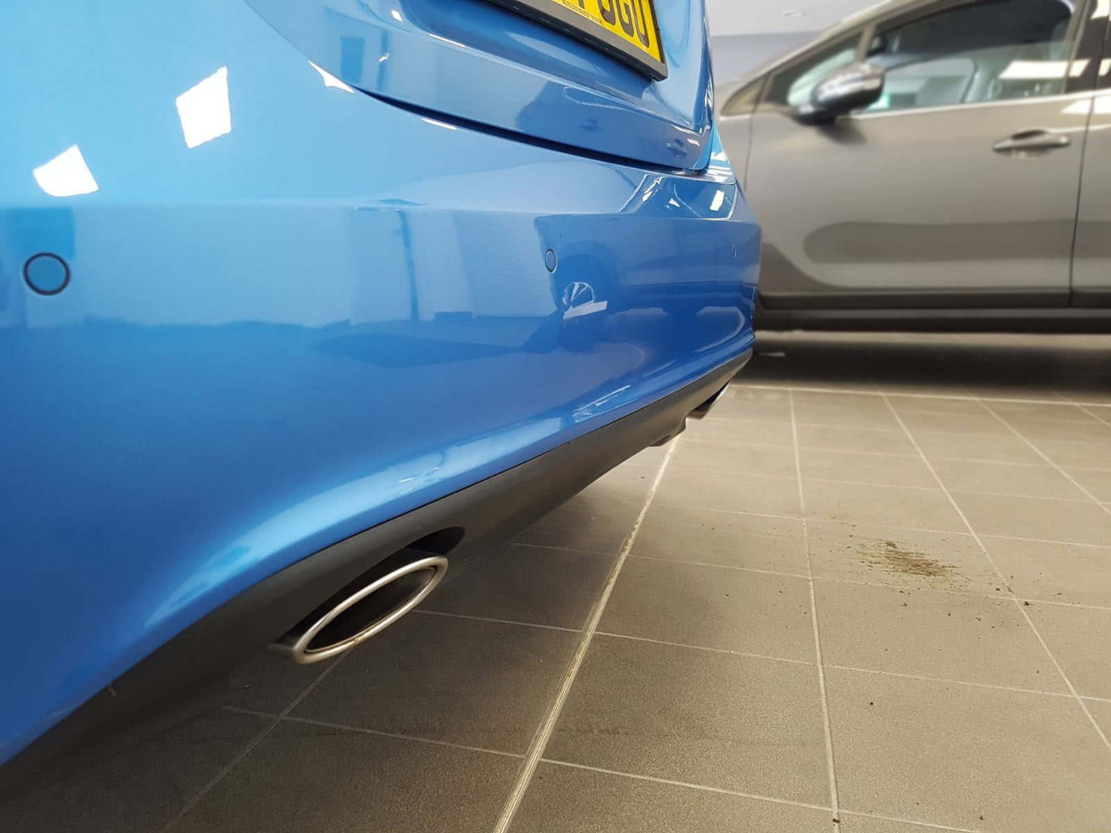 Mercedes A Class - Flush sensors close up