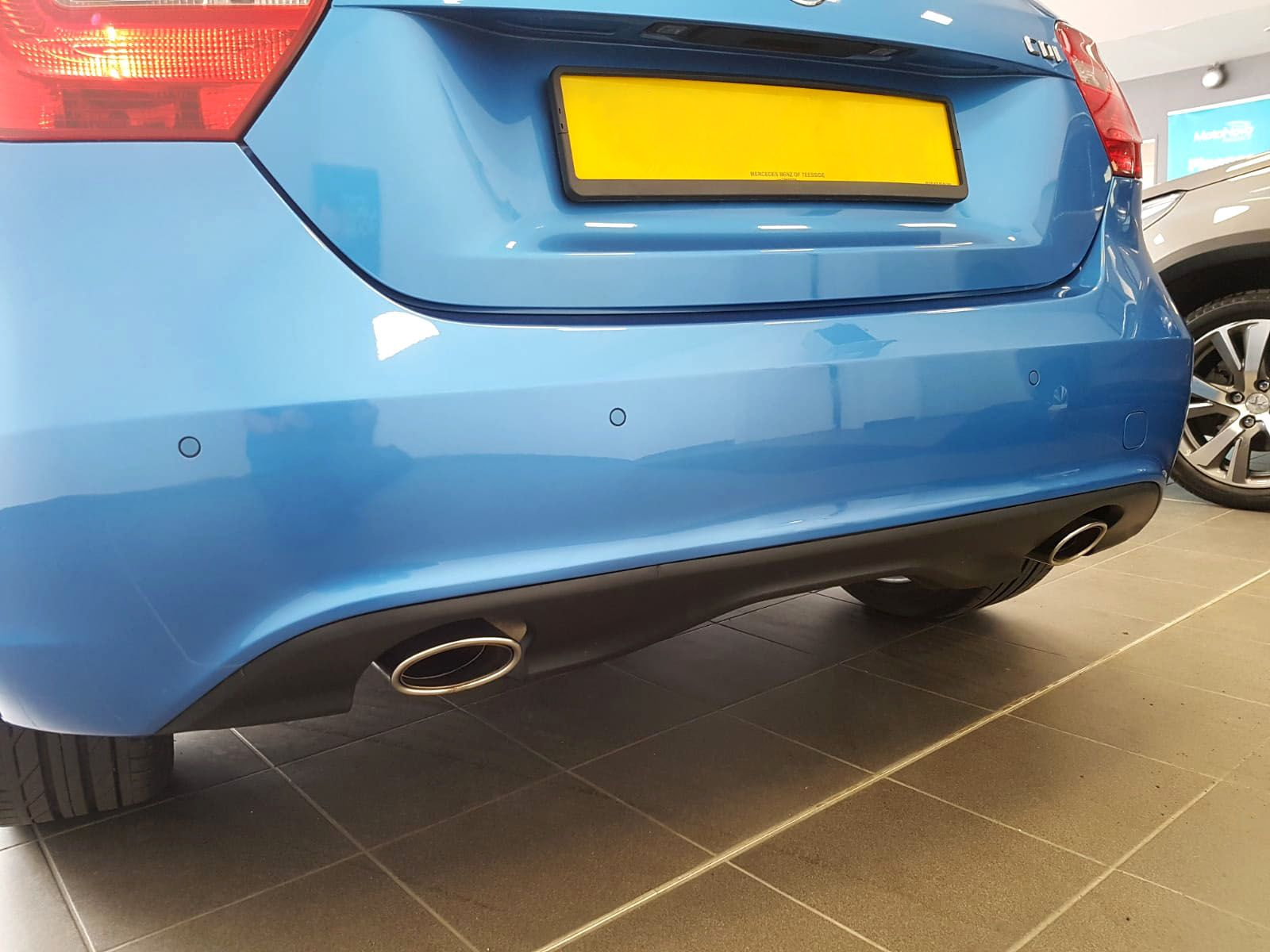 Mercedes A Class - Flush painted parking sensors installed