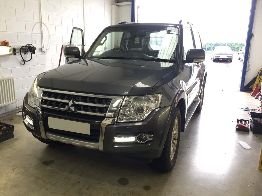 Mitsubishi Shogun at our Maghera Installation centre