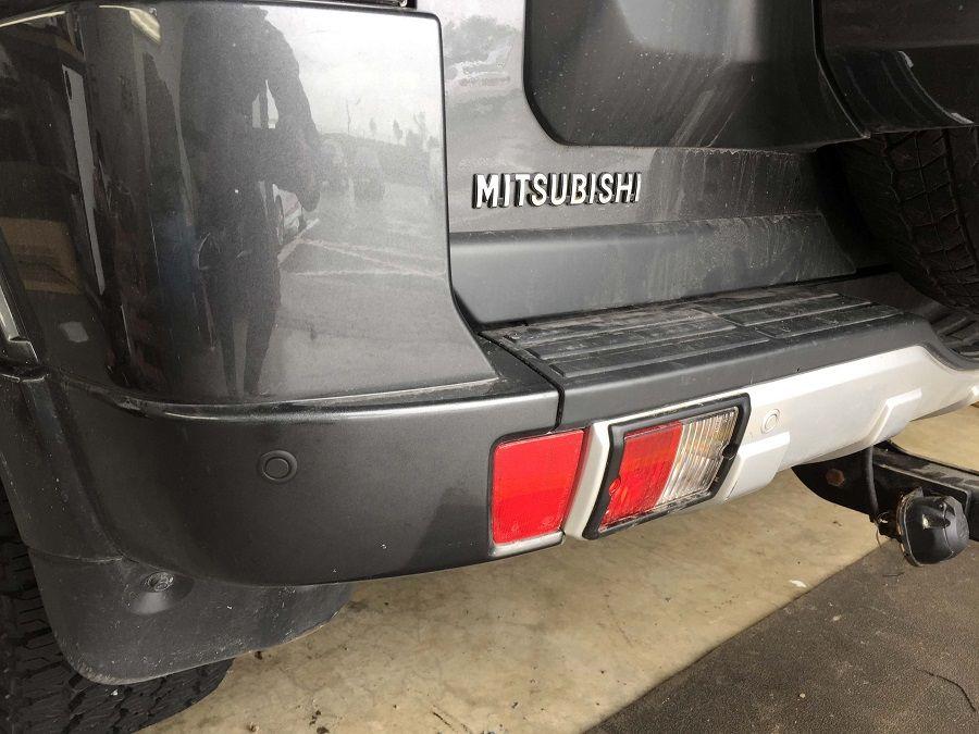 Mitsubishi Shogun fitted with reverse sensors