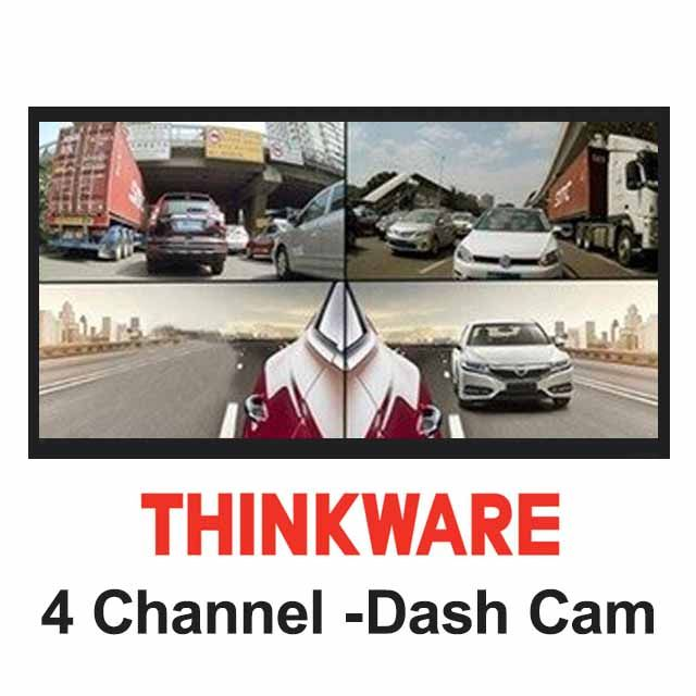 4 Channel & 4K Dash Cams!!