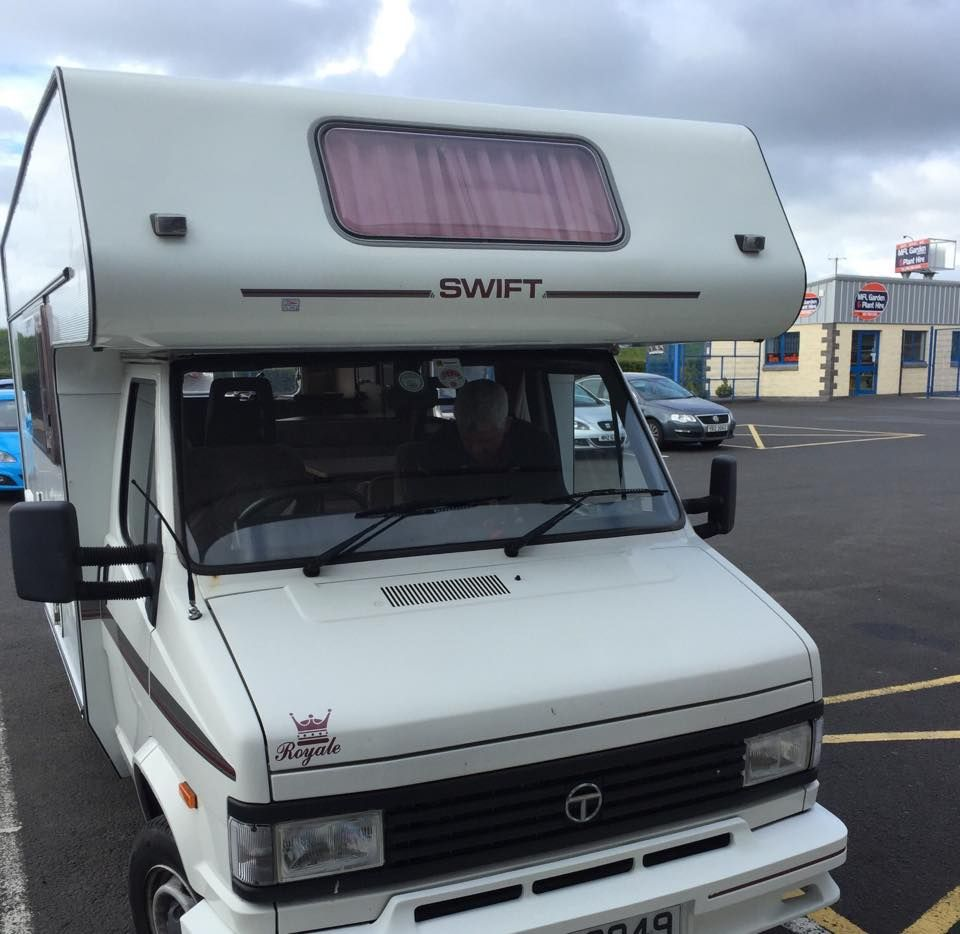 talbot_swift_royale_540_campervan_1994_getting_a_new_radio