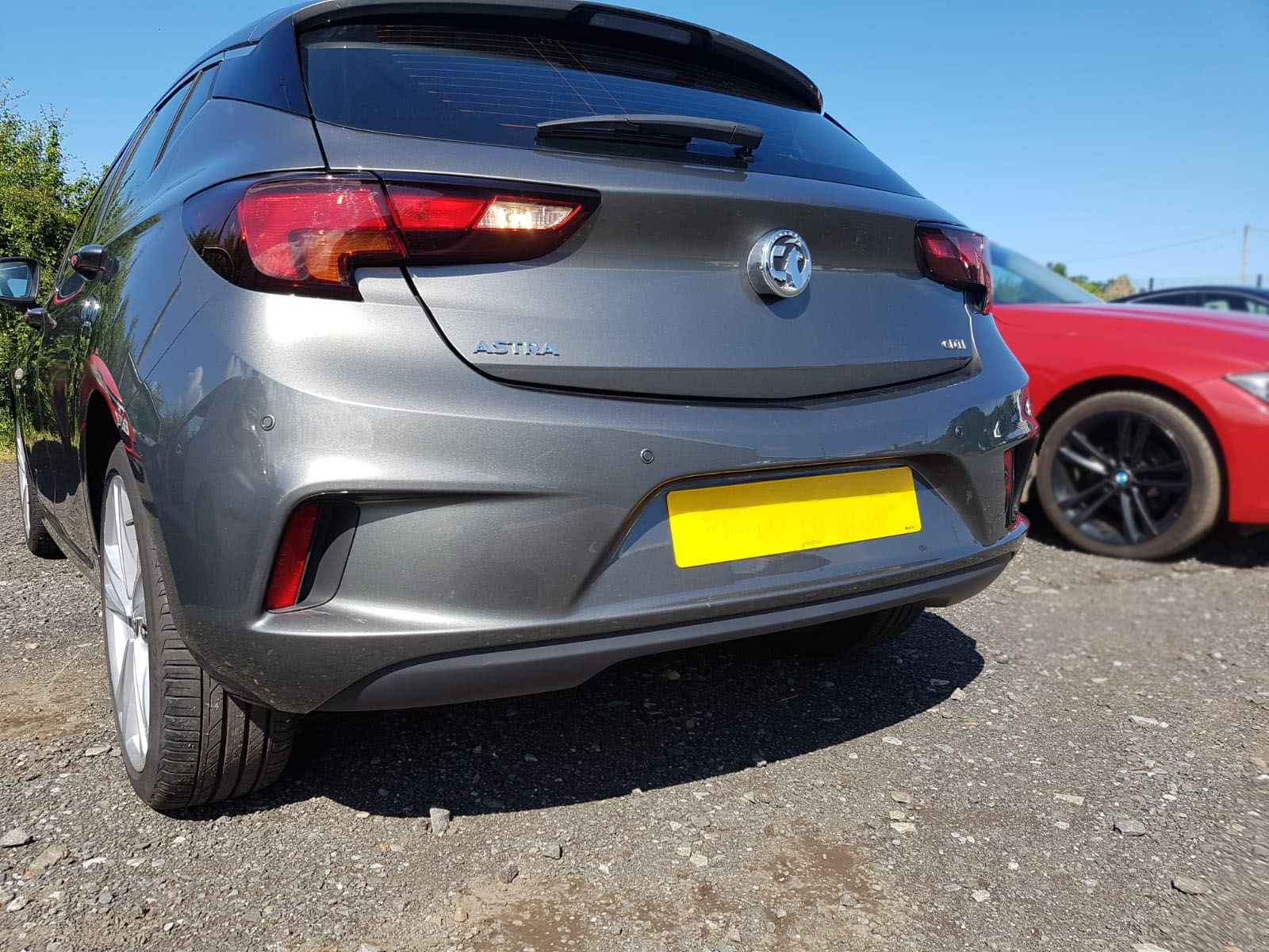 Vauxhall astra - new parking sensors fitted