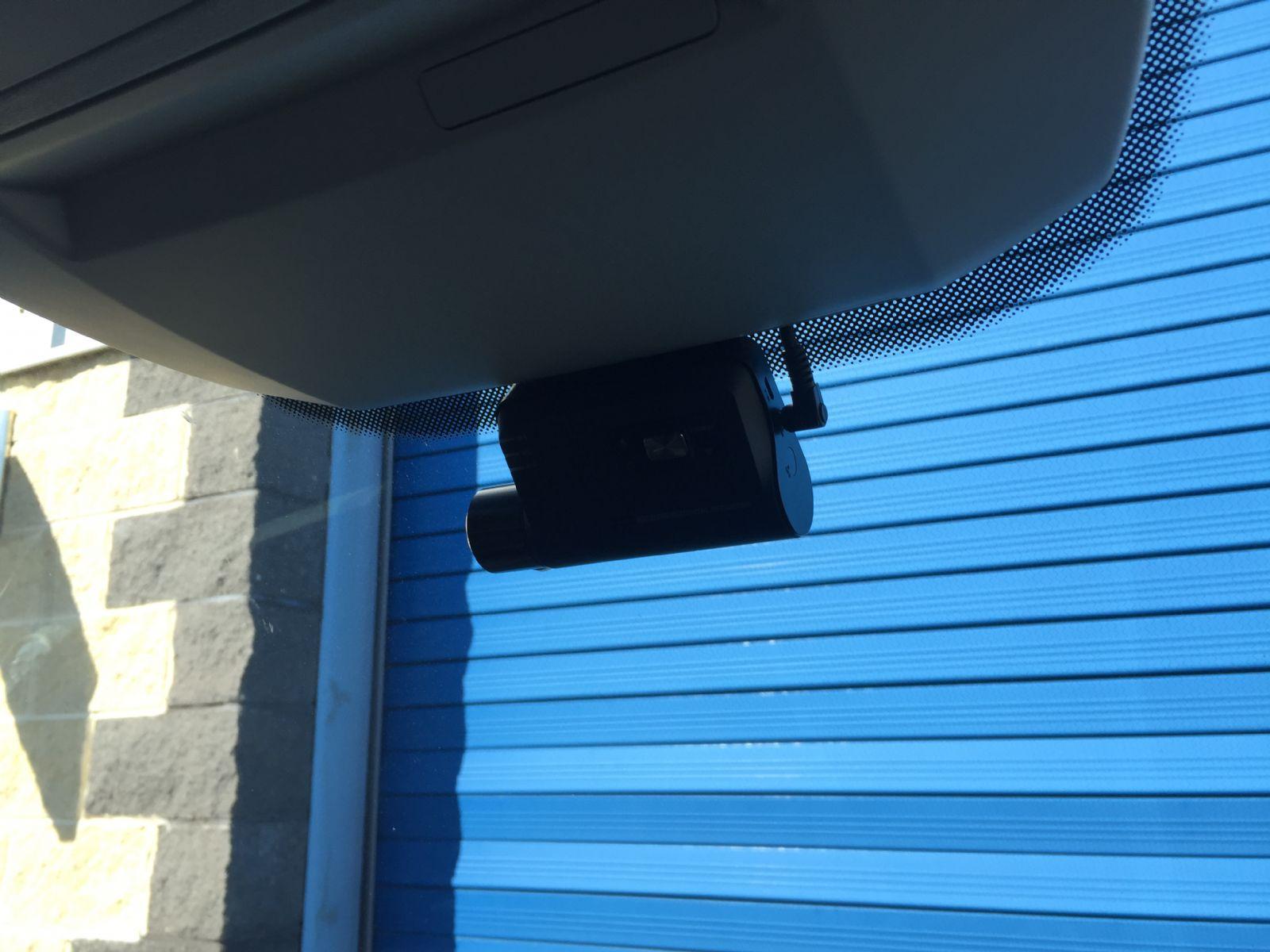 Neat Dash Cam install in this new Volkswagen Crafter van